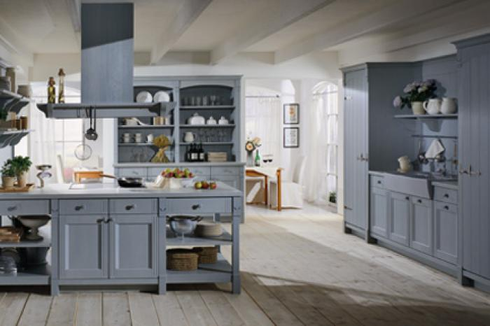 Mc creaties moderne en landelijke keukens landelijke keukens - Keuken en woonkamer in dezelfde kamer ...
