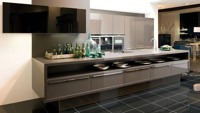 Moderne keukens met kookeiland - Prijs keuken met kookeiland ...